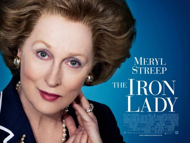 UK quad poster for The Iron Lady