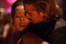Gong Li and Colin Farrell in Miami Vice