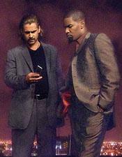 Colin Farrell and Jamie Foxx in Miami Vice
