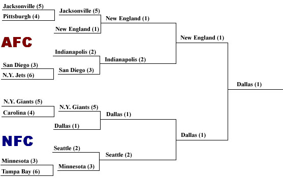 2008 NFL Playoff Predictions
