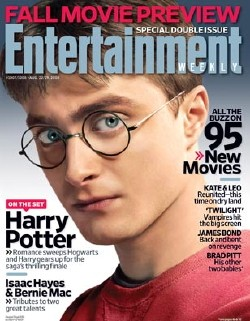Cover of Entertainment Weekly's 2008 Fall Movie Preview