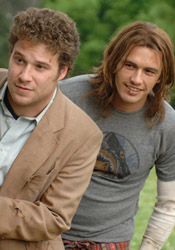 (from left) Seth Rogen and James Franco in Pineapple Express