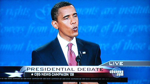 Debate coverage on CBS