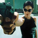 Carrie-Anne Moss in The Matrix