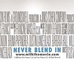 Never Blend In