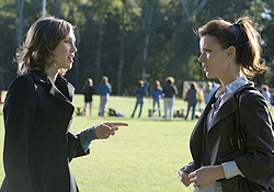 (from left) Vera Farmiga and Kate Beckinsale in Nothing But the Truth