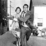 Dana Wynter and Kevin McCarthy in Invasion of the Body Snatchers