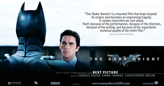 For Your Consideration: The Dark Knight