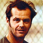 Jack Nicholson in One Flew Over the Cuckoo\'s Nest