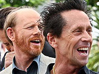 (from left) Ron Howard and Brian Grazer