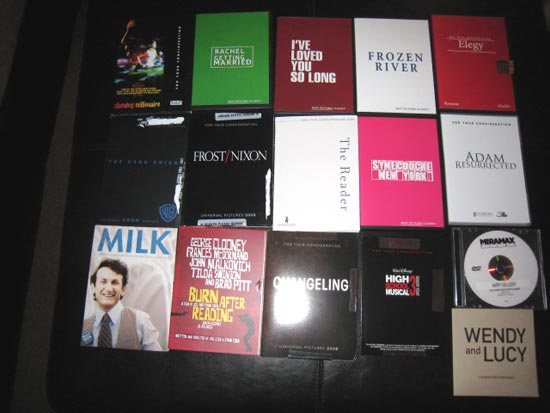 Oscar screeners