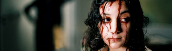 Lina Leandersson in Let the Right On In
