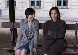 (from left) Elsa Zylberstein and Kristin Scott Thomas in I've Loved You So Long
