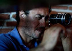 Matteo Garrone on the set of Gomorrah
