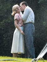 Kate Winslet and Leonardo DiCaprio in Revolutionary Road