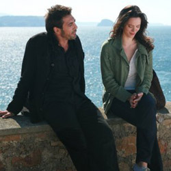 Javier Bardem and Rebecca Hall in Vicky Cristina Barcelona