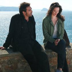 Javier Bardem and Rebecca Hall in Vicky Cristina Barcelona