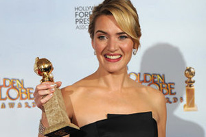 Kate Winslet at the 66th Annual Golden Globe Awards