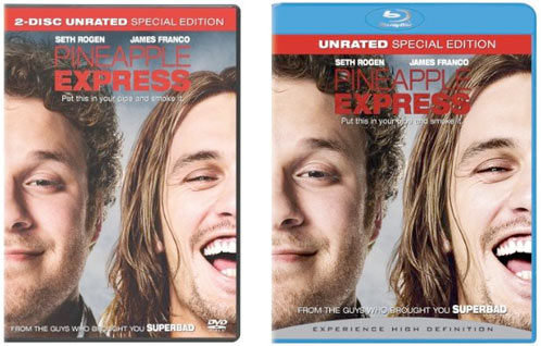 Pineapple Express on DVD and Blu-ray
