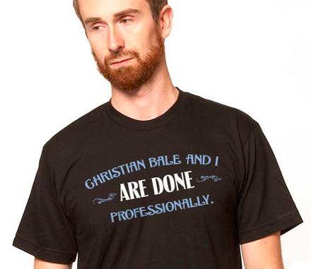 Christian Bale T-shirt