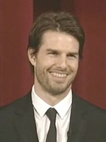 Tom Cruise at the 74th annual Academy Awards