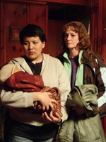 (from left) Misty Upham and Melissa Leo in Frozen River