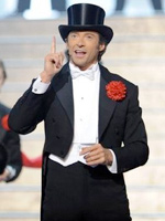 Hugh Jackman at the 81st annual Academy Awards