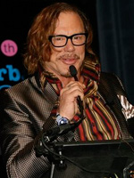 Mickey Rourke at the 24th Annual Santa Barbara International Film Festival