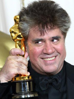 Pedro Almodovar at the 75th Annual Academy Awards