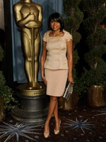 Taraji P. Henson at the 2009 Academy nominees luncheon