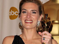 Kate Winslet at the 81st annual Academy Awards