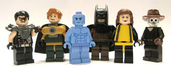 Custom Watchmen LEGO figures